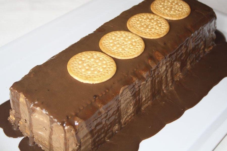 Tarta de galletas Eva Arguiñano